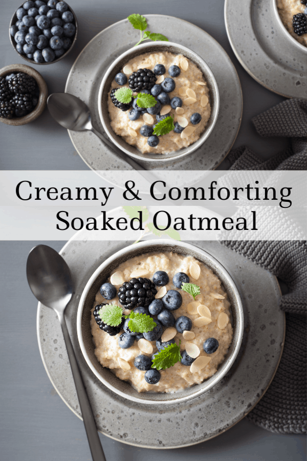 How to Soak Oatmeal for Phytic Acid