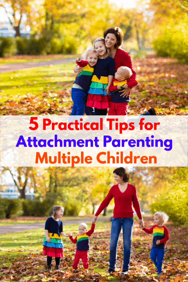 How to Attachment Parent A Baby and a Toddler
