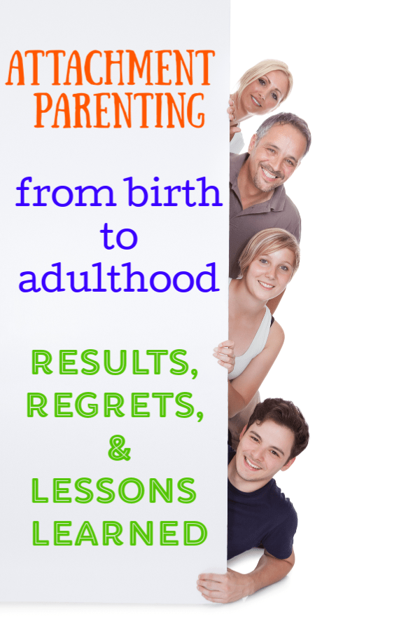 Attachment Parenting Results in Adulthood