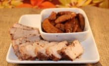 Pork Chops and Fried Apples a Paleo Recipe