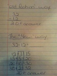 Example of Common Core New Math