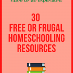 Affordable Homeschool Resources