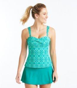 Modest Aqua Tankini Modest Swimwear