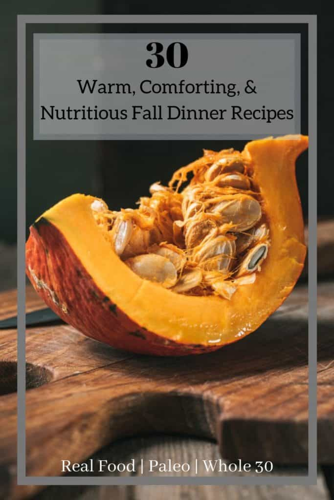 Healthy Fall Dinner Recipes
