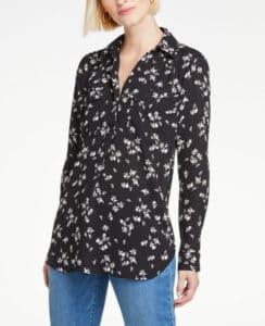 Button Down Shirt for Women