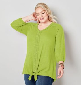 Plus Size Fall Tops
