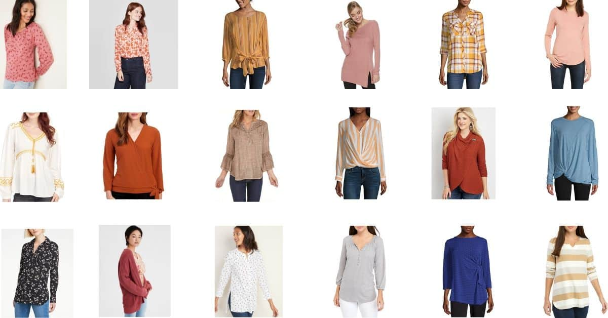 Fall Fashion Tops Modest and Comfortable
