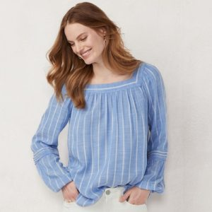 Peasant Top for Fall