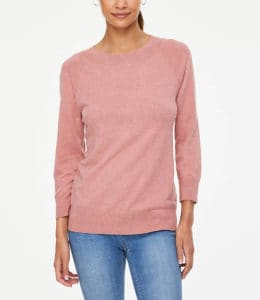 Pink Sweaters for Fall