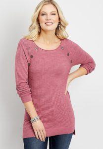 Raglan Tunic Pullover
