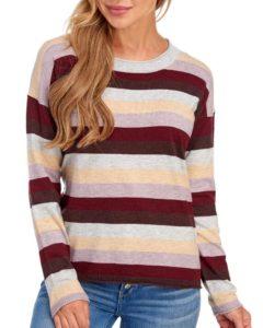 Fall Striped Sweater
