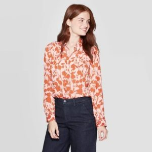 Floral Button Shirt Fall