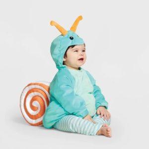 Cute Baby Snail Halloween Costume