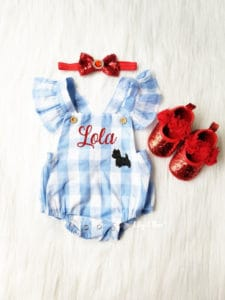 Wizard of Oz Dorothy Halloween Costume for Baby