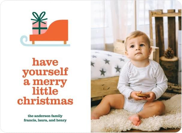 Photo Christmas Card Customizable