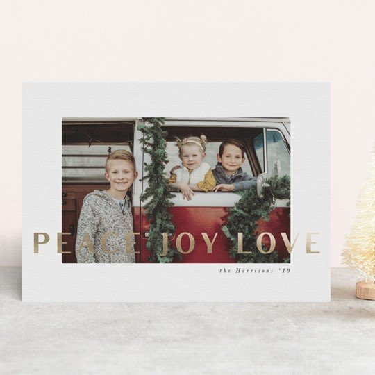 Personalized Family Christmas Christmas Card