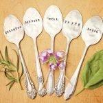 Herb Garden Marker Spoons