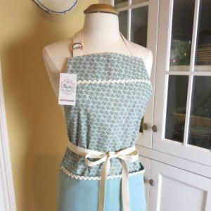 Handmade Apron Pixie Blue