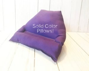 Hand Sewn Tablet Reading Pillow