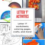 Free Letter F Worksheets