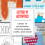 Free Printable Letter H Worksheets