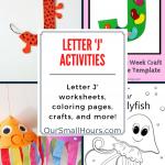 Free Printable Letter J Worksheets
