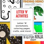 Free Printable Letter N Worksheets