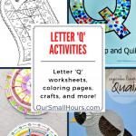 Free Printable Letter Q Worksheets