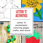 Free Printable Letter S Worksheets