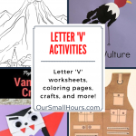 Free Printable Letter V Worksheets