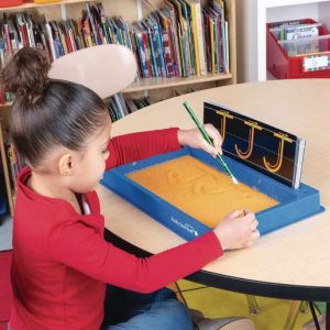 Letter Writing Sand Tray