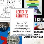 Free Printable Letter X Worksheets