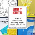 Free Printable Letter Y Worksheets