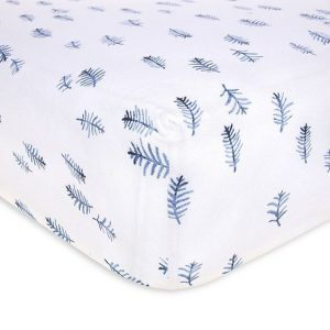 Burt's Bees Baby Pine Forest Collection Fitted Crib Sheet