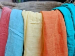 Colorful Baby Swaddle Blankets