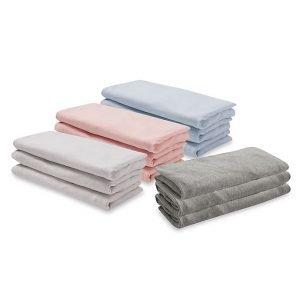 Solid Organic Crib Sheet Collection