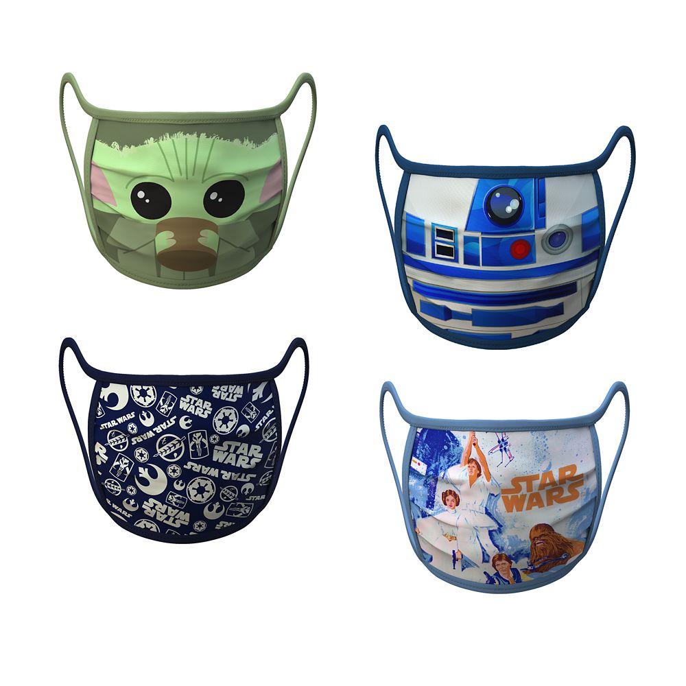 Star Wars Reusable Face Masks for Kids