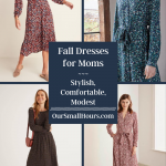 Modest Fall Dresses for Moms