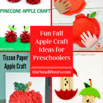 Fun Fall Apple Crafts for Preschoolers