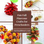 Pine Cone Crafts for Preschoolers