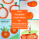 Fun Fall Pumpkin Crafts for Preschoolers