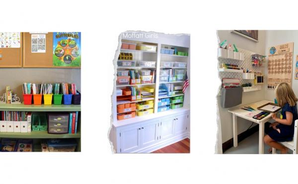 Brilliant Homeschool Room Organization Ideas