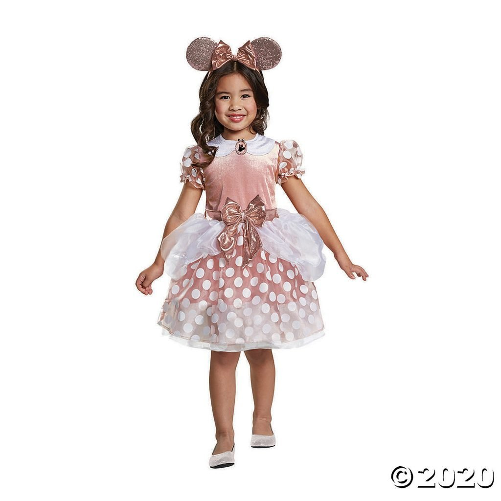 Rose Gold Minnie Mouse Halloween Costume