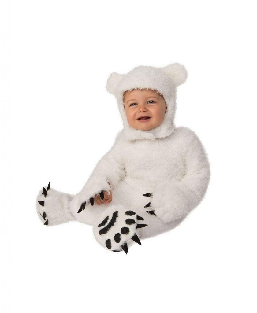 Polar Bear Toddler Halloween Costume