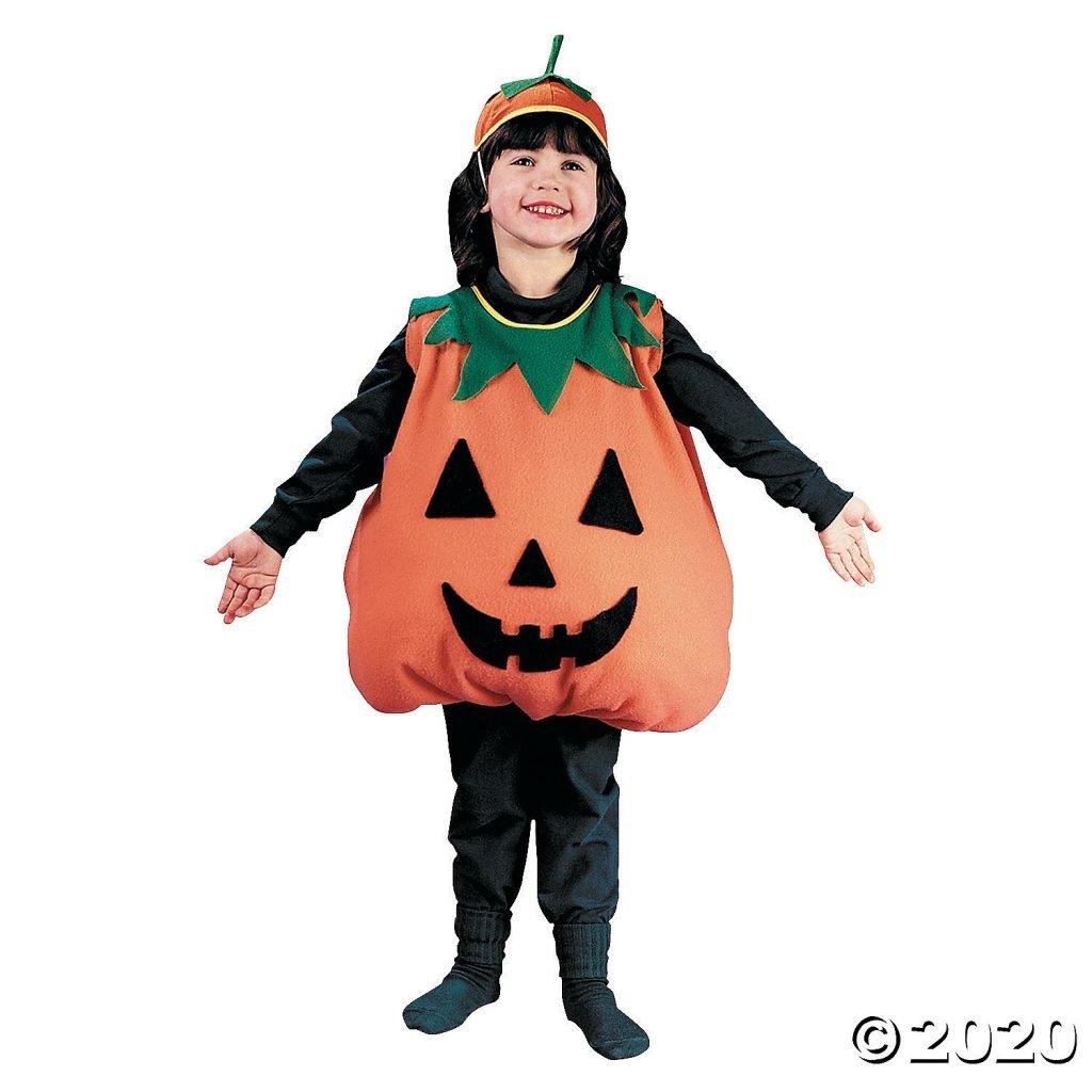 Pumpkin Halloween Costume for Toddler