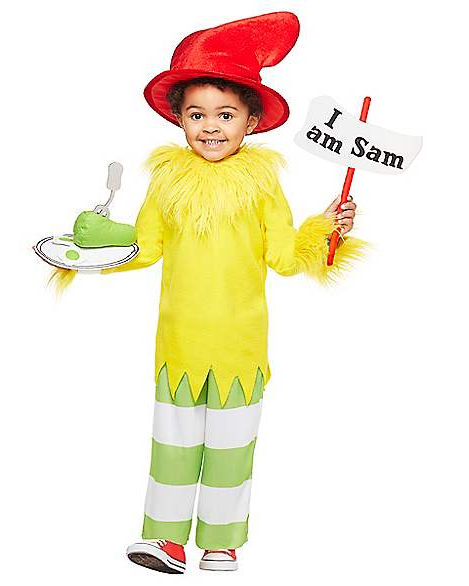 Sam I Am Costume for Toddlers