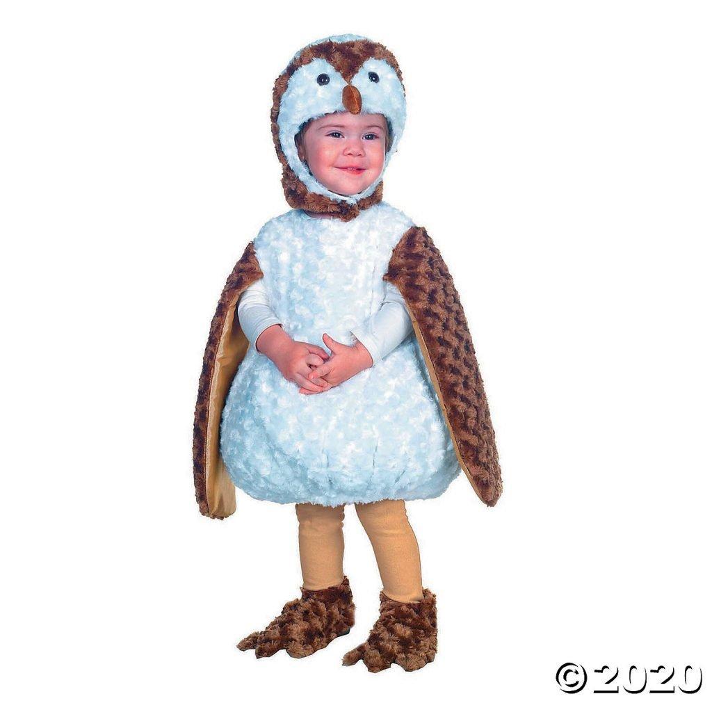 White Barn Owl Toddler Halloween Costume