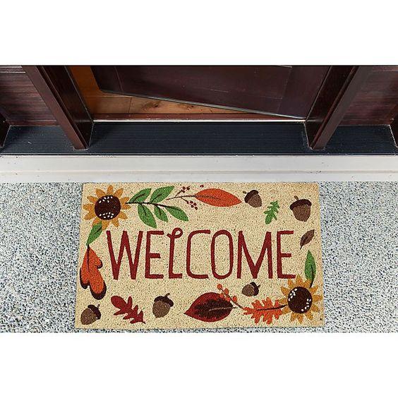 Fall Welcome Doormat
