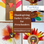 Thanksgiving Turkey Crafts for Preschoolers